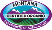 Montana Department of Agriculture Certified Organic Logo